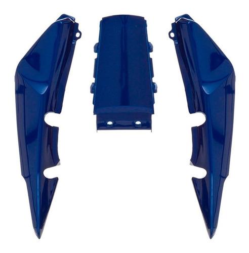 carenagem rabeta traseira honda titan 150 azul metálico 2007