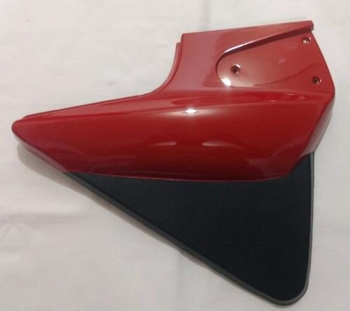carenagem tampa lateral sundown max 125 cor vermelha (par)