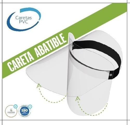 careta abatible reutilizable certificada protector facial