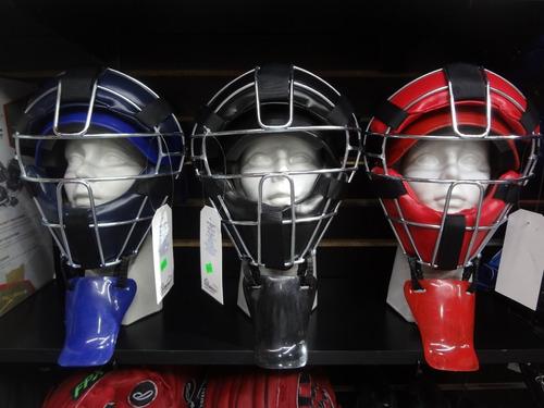 careta con casco catcher beisbol palomares genuino enviograt