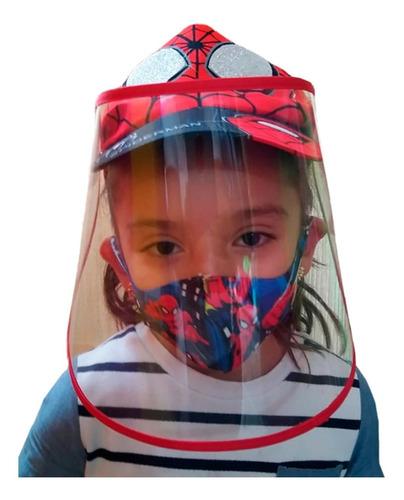 careta con gorra para niños