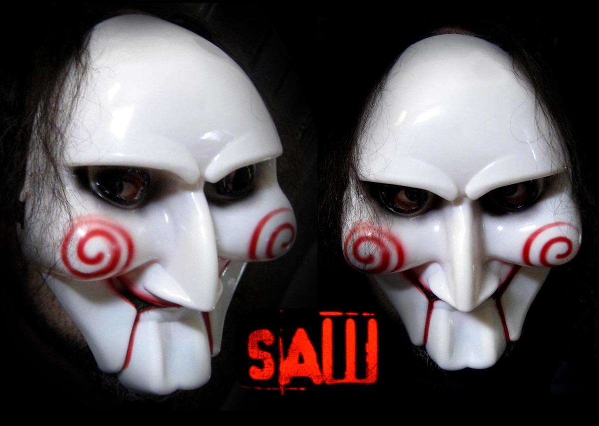 Careta De Billy Saw Jigsaw Mascara Del Juego Macabro Fx 420