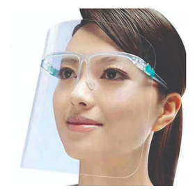 Careta De Protección Facial Con Gafas