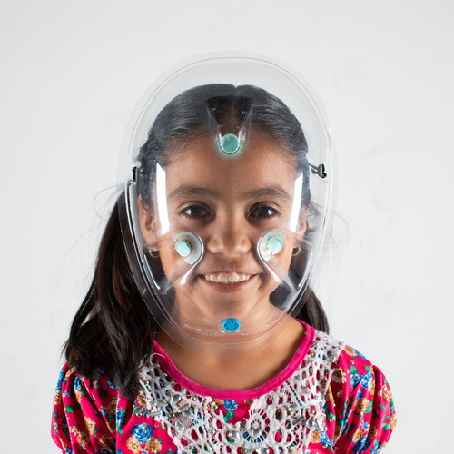 careta de protección facial facetek