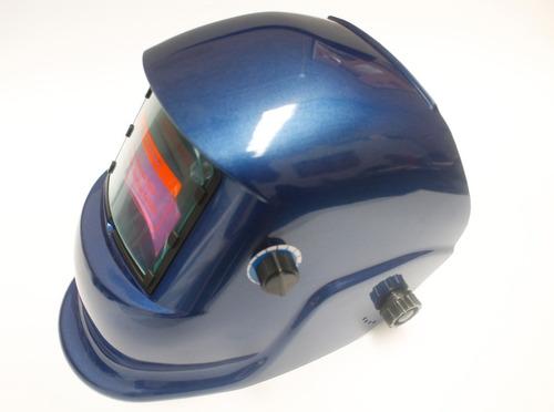 careta electronica para soldar azul top line