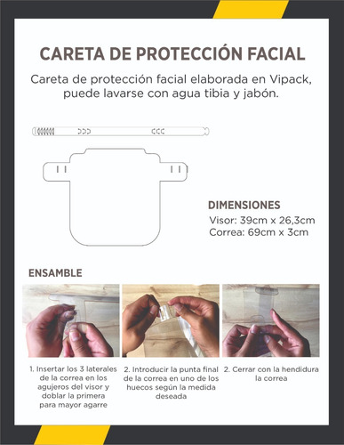 careta facial bioseguridad antifluidos