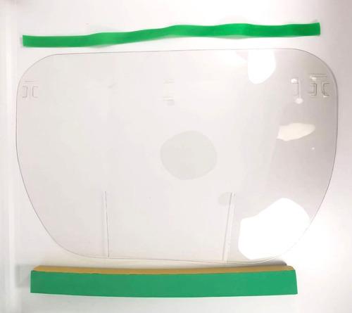 careta facial lote 20 pzs grafeno y pet protección completa