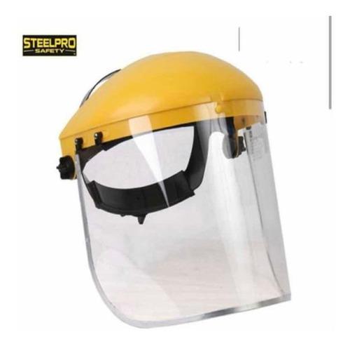 careta facial visor policarbonato  steelpro safety
