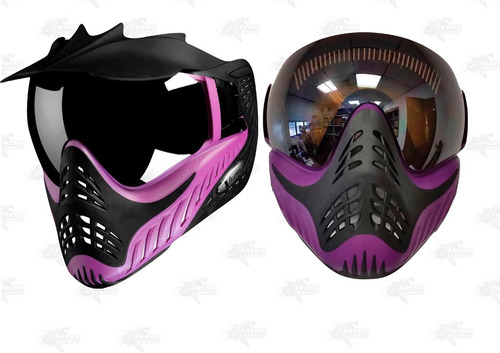 careta gotcha vforce grill profiler purple on black xtreme c