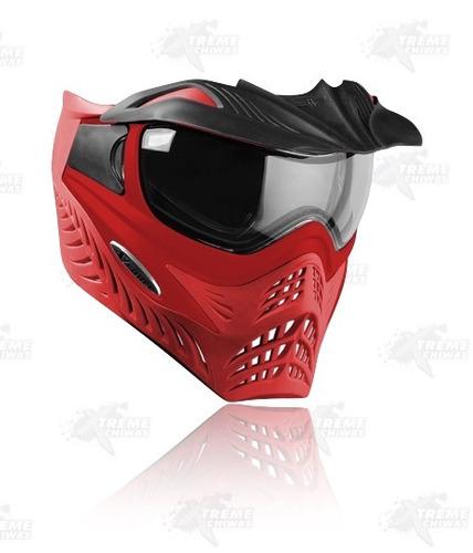 careta gotcha vforce grill red on red xtreme c