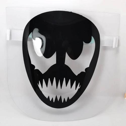 careta impresa mayoreo 10 pzs protector lavable sonic venom