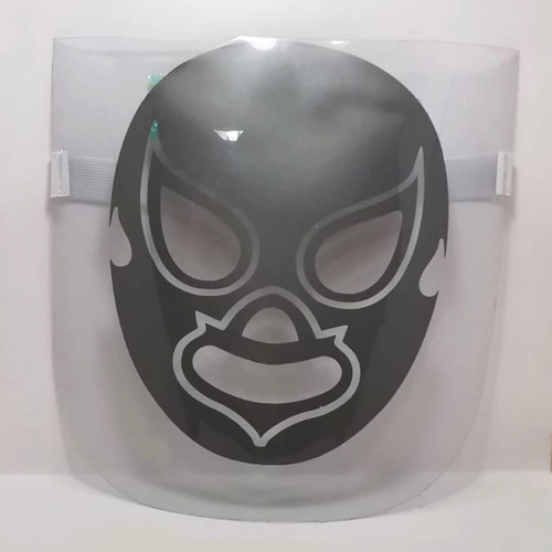 careta impresa mayoreo 20 pzs protector cara sonic batman dv