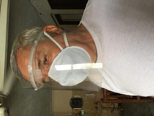 careta mascara antifluidos tambi visor de repuiesto y tapabo