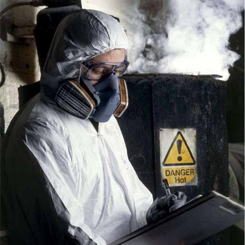 careta mascara antigas mix 3m filtro vapores gases polvos