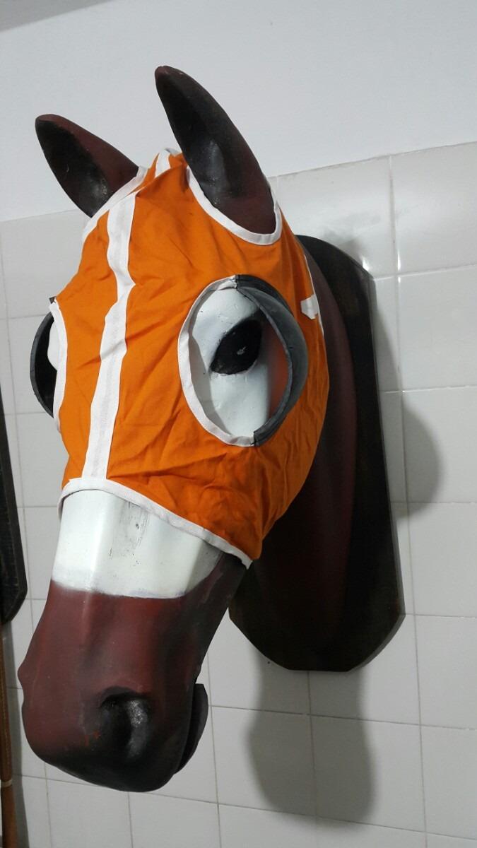 39c39e369a374 careta mascara pescuecera con goma caballo carrera turf. Cargando zoom.