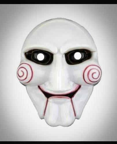 careta máscara saw cotillón disfraz juego del miedo pack x10