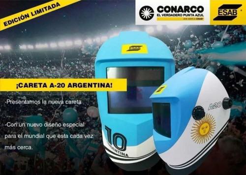 careta mascara soldar fotosensible esab conarco a 20 argentina automática liviana a20 2 años garantia gramabi