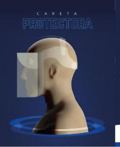 careta para proteccion facial paq.x10 unid. acetato