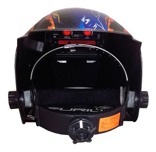 careta  para soldadura de alta velocidad con regulación 9-13