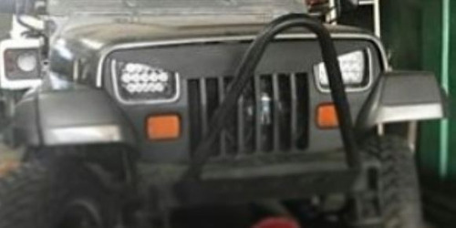 careta parrilla jeep cj7, wrangler, tj