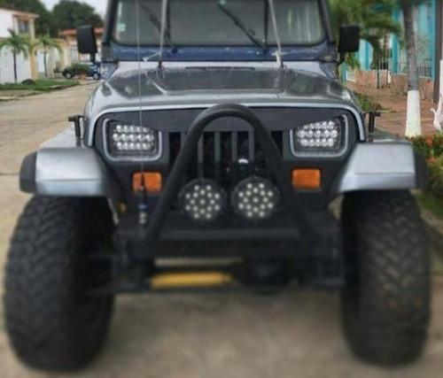 careta parrilla jeep cj7, wrangler, tj