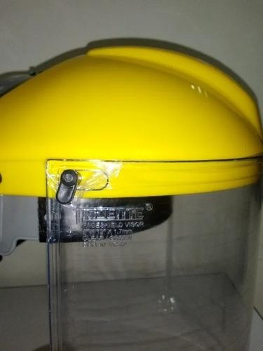 careta protector de rostro mascarilla facial premium