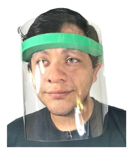 careta protector facial grafeno cubre bocas ojos nariz envío