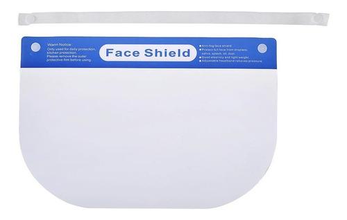 careta protectora face shield (10 piezas) con esponja