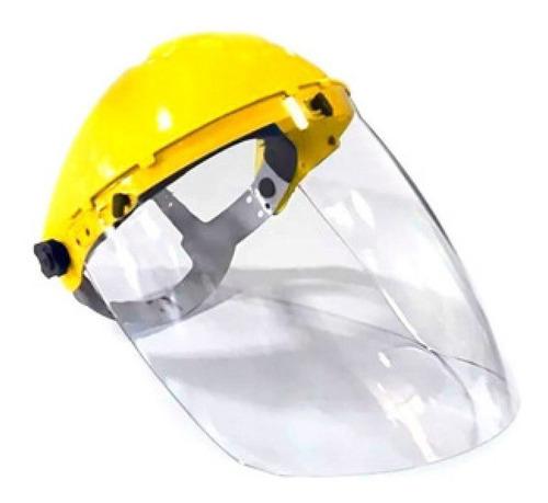 careta protectora visor rigido