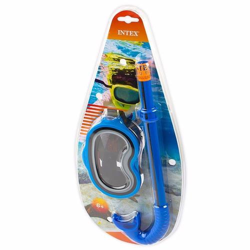 careta snorkel niños intex 55942 piscina buceo playa mar