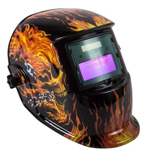 careta soldar eléctrica ce-m9 fuego herramienta oakland