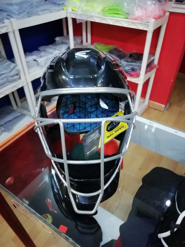 careta tipo hockey  catcher, calidad worth/eston excelente