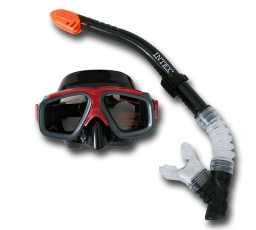 caretas con snorkel intex
