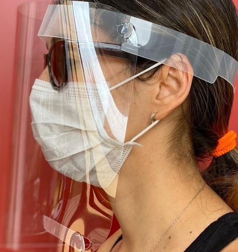 caretas de protección  facial en pet -g