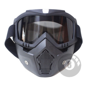 Caretas Para Casco Open Face Cafe Racer, Royal Einfield