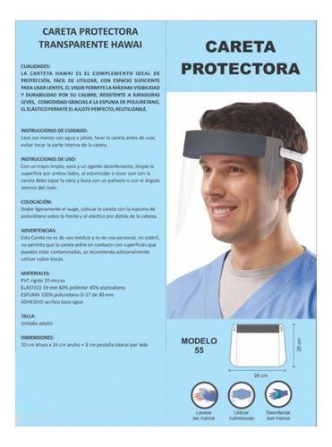 caretas protectoras de virus (fabricante)