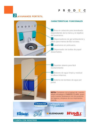 caretas, tapabocas, lavamanos portátiles y cabinas desinfect