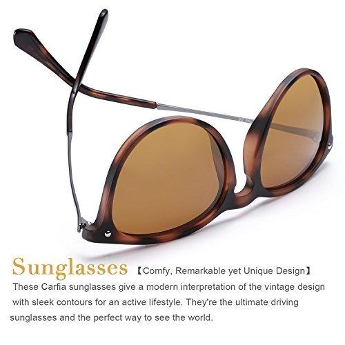 800b63f712 Carfia Vintage Polarized Sunglasses For Women Men