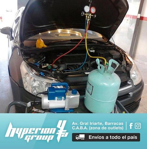 carga aire acondicionado autos y camionetas