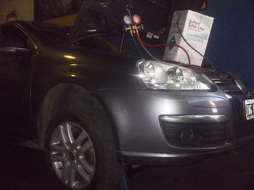 carga aire acondicionado gas automotor reparacion zjaire