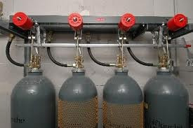 carga alquiler tubos argon nitrogeno oxigeno helio acetileno