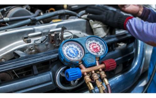 carga d aire acondicionado automotriz reparación a domicilio