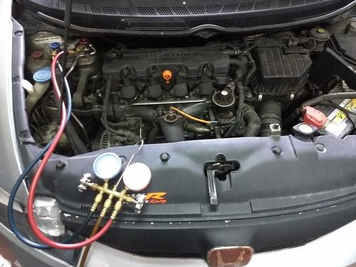 carga de aire acondicionado auto camioneta