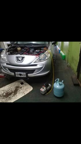 carga de aire vehicular y reparacion