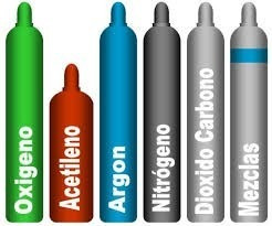 carga de co2 nitrogeno argon atal oxigeno acetileno