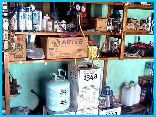 carga de gas aire acondicionado auto camioneta diagnostico