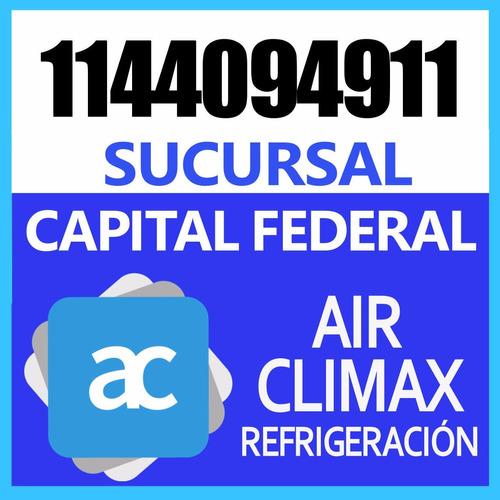 carga de gas aire acondicionado split - servicio técnico