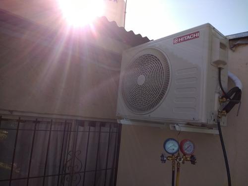 carga de gas aire split, heladeras, instalador matriculado