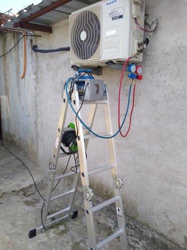 carga de gas de heladeras - aire acondicionado