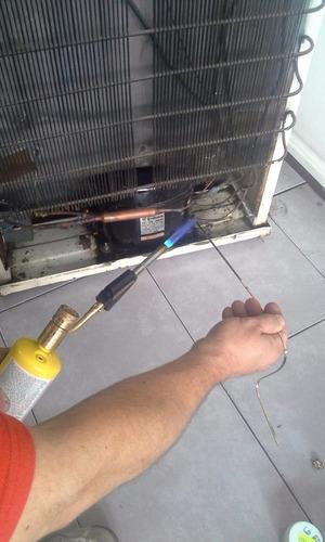 carga de gas heladera service aire acondicionado